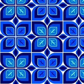 Leaf blocks blue