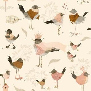Avian royalty