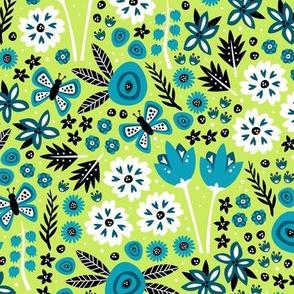 Spring Garden (Green)
