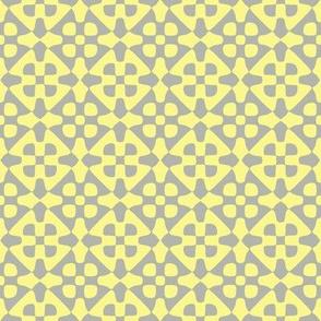 Diamond checker - clover blossoms