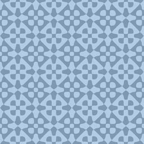 sky blue diamond checker