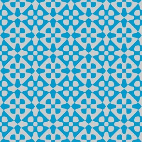 diamond checker in turquoise and grey