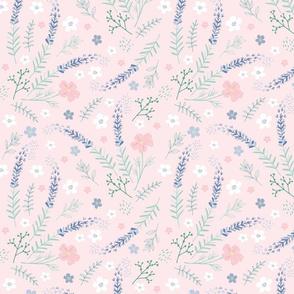 Prairie Garden on Pink
