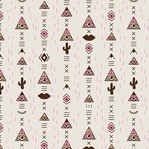 Modern bohemian gypsy ethnic tribal indian summer vintage pink girls