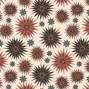 Geometric Cactus Flowers (Siesta)