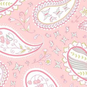 Pretty Paisley - Bella Pink