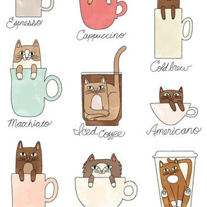 Coffee Cats in Milky
