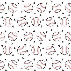 baseball fabric // american pastime sports baseball design andrea lauren
