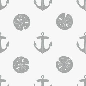 anchors_and_sandollars_gray_on_white