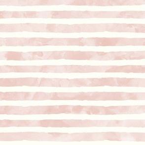 watercolor blush stripe  - mermaid coordinate (warm)