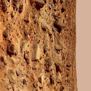 Mars Landscape Border Print