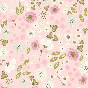 Blossom burst in pink