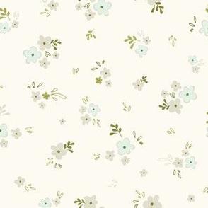 Petite blossom in cream