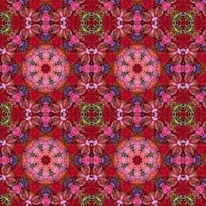 Multi Floral Sphere 0807