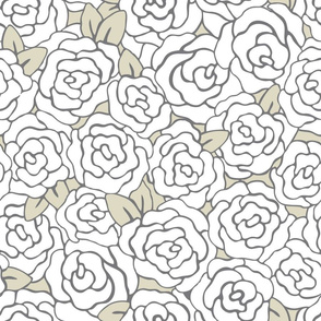 Rosie – Roses with Leaves