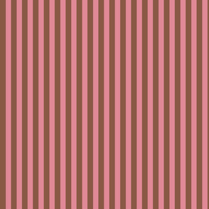 Chocolate and Pink Stripes