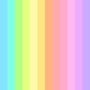 rainbow stripes pastel