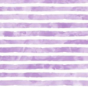 watercolor stripe purple - mermaid coordinate