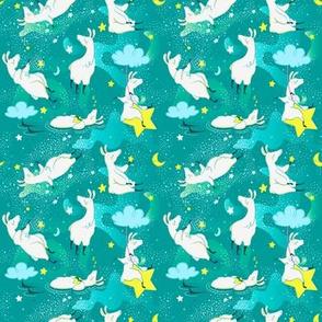Dreaming Llamas - Smaller Print