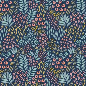 Garden Forms - Midnight Jungle