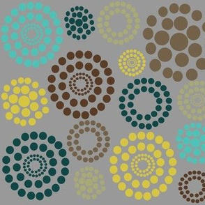 Circles and Dots Color Trends