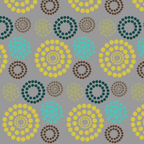 Circles and Dots Color Trends 2