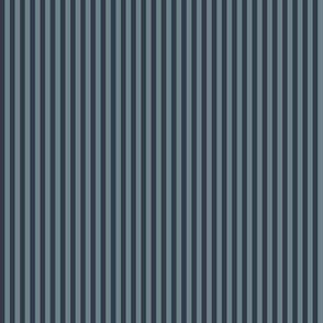 narrow slate and navy stripes