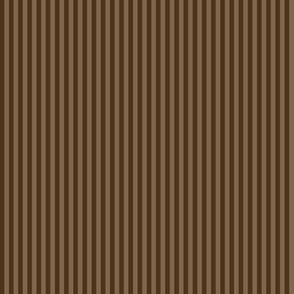narrow chocolate brown stripes