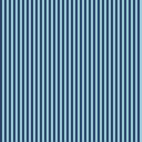 skinny stripes - light blue and navy