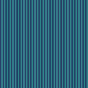 skinny stripes - navy and teal