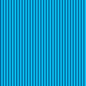 skinny stripes - bright teal and turquoise