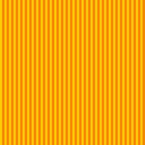 skinny stripes - saffron yellow and orange