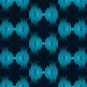 blue & black light madras