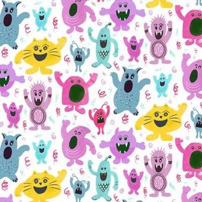 Monsters Pastel