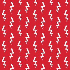 bolt fabric halloween lightning bolt design super hero bolt design red