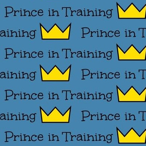 Prince in Training