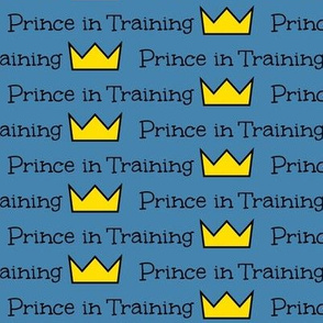 Prince in Training- Small