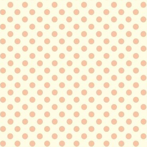 Dolly Dots Light Pink Large Offwhite