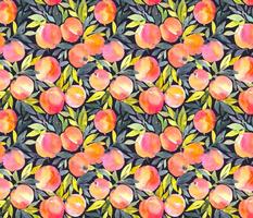 Fragrant peaches