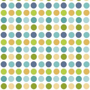 Colorful Polka Dots