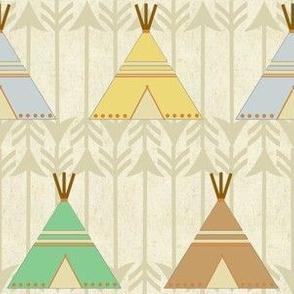 Native American Tee Pee Design