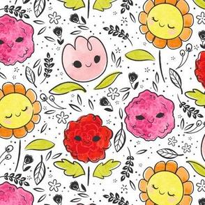Blooms - Larger Print