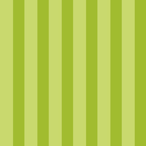 Green Tonal Stripes