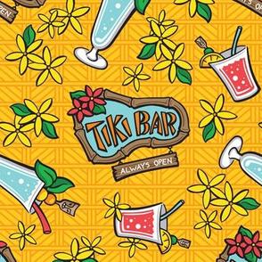 Kitsch Tiki - Swizzle - Yellow