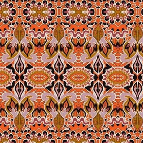 Budding Orange Deco Doodads