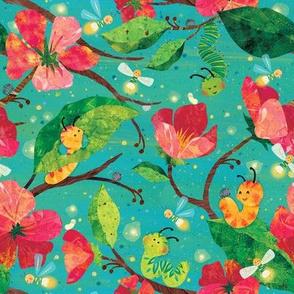 Sweet Dreams Caterpillars & Fireflies