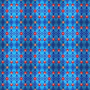Tulip Hafiz Blue-Red