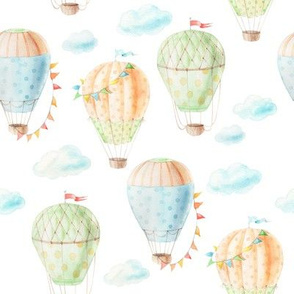 watercolor balloon