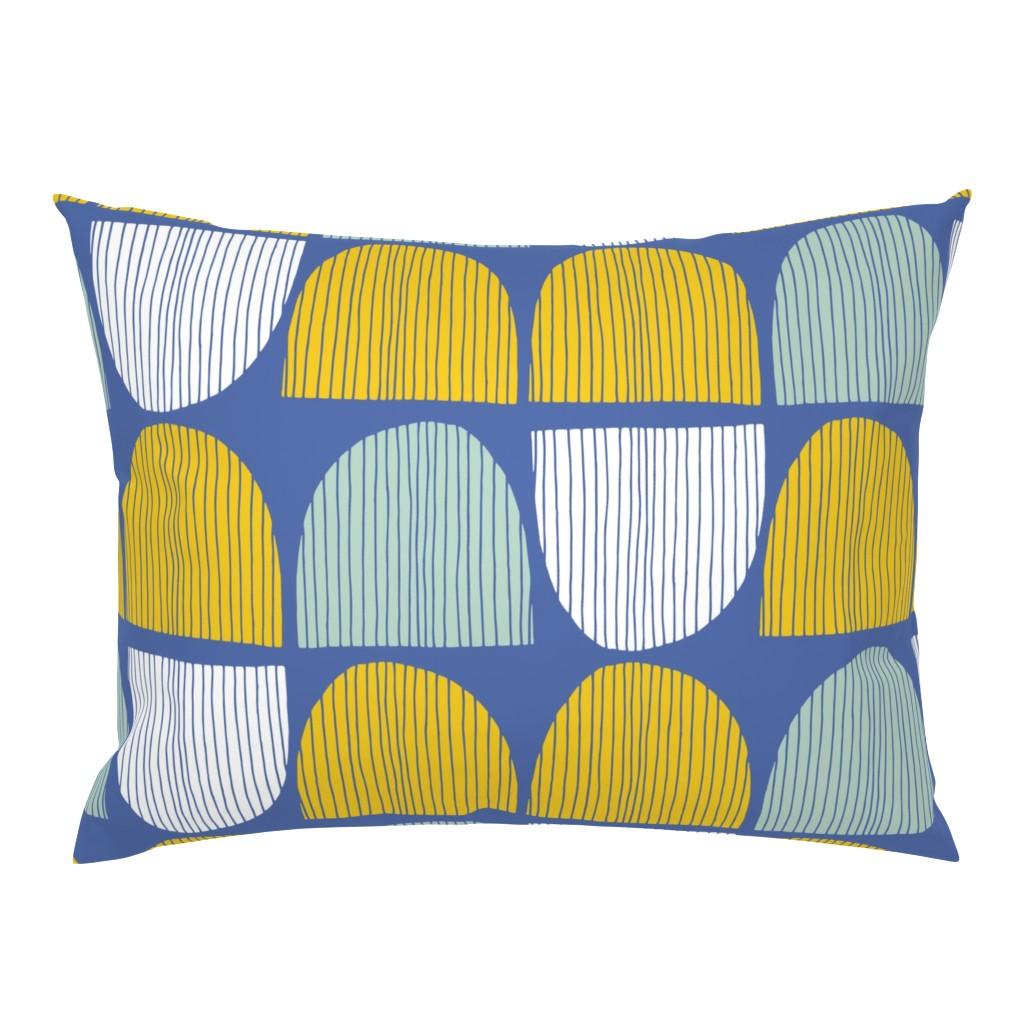 Campine Pillow Sham featuring Bird Life hills by zoe_ingram