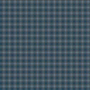 """Cian / Carroll clan tartan, 1/2"""" weathered (1:12 scale )"""